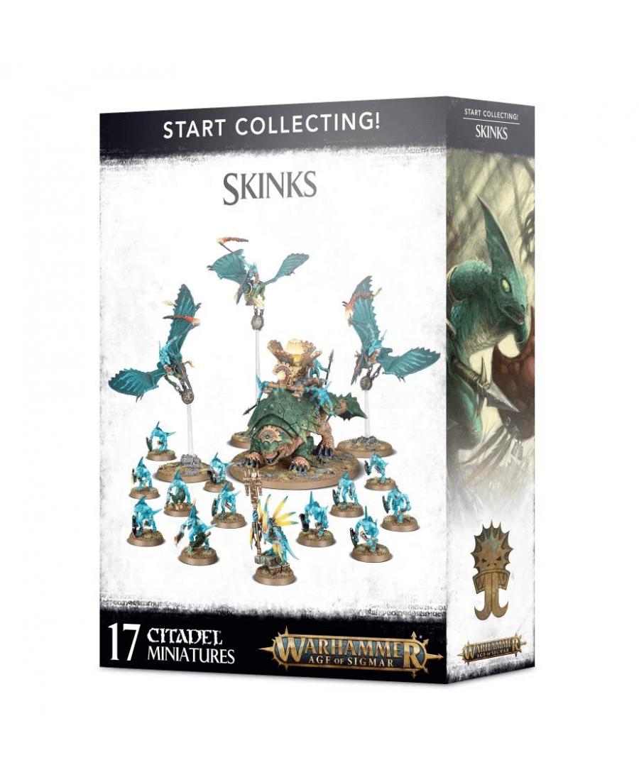 Start Collecting! : Skinks | Boutique Starplayer | Jeu de Figurines
