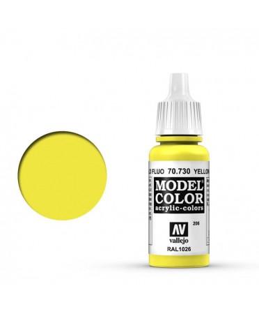 Vallejo Model Color : Jaune Fluorescent | Boutique Starplayer | Peinture & Modélisme