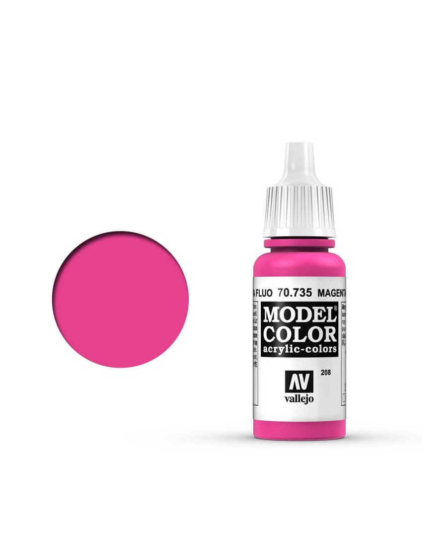 Vallejo Model Color : Magenta Fluorescent | Boutique Starplayer | Peinture & Modélisme