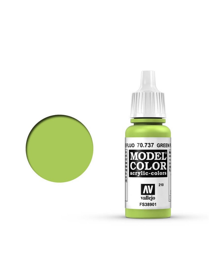 Vallejo Model Color : Vert Fluorescent | Boutique Starplayer | Peinture & Modélisme