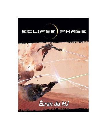 Eclipse Phase - Ecran du MJ