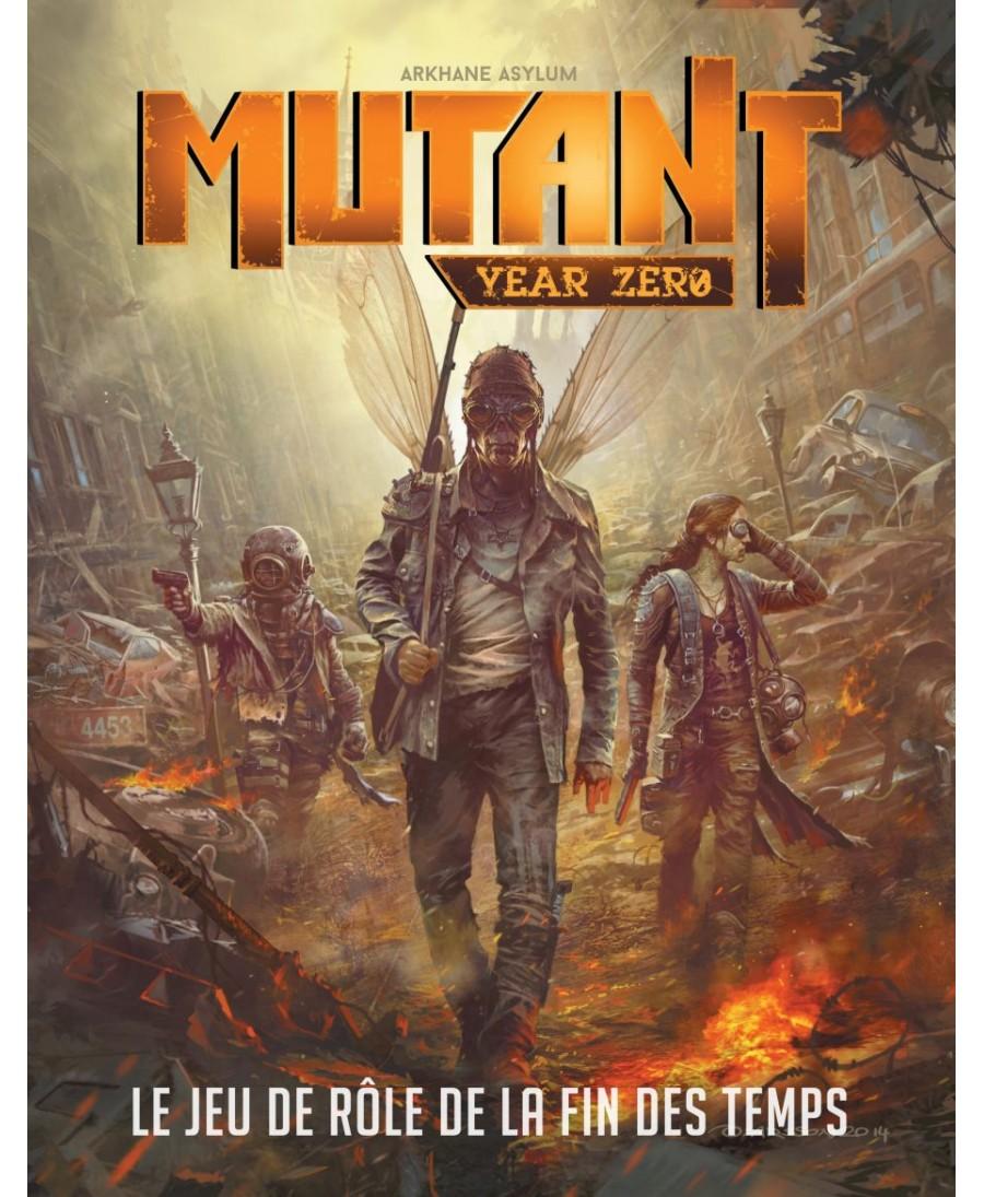 Mutant Year Zero : Livre De Base