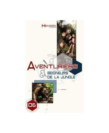 Hexagon Universe - Aventuriers et Seigneurs de la Jungle - Edition Lim