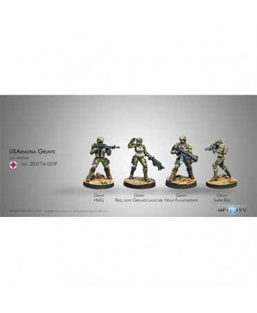 Ariadna : Grunts | Boutique Starplayer | Jeu de Figurines Infinity