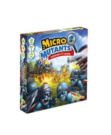 Micros Mutans : Usatropodes VS Exoborgs