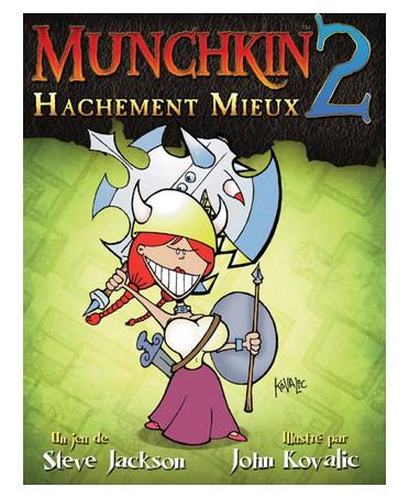 Munchkin 2 : Hachement mieux (Edition révisée en Couleur)