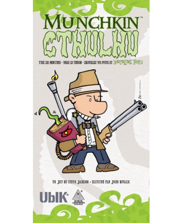 Munchkin Cthulhu - Le jeu de cartes