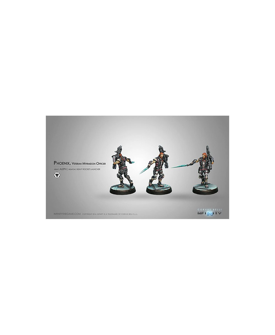 Aleph : Phoenix, Veteran Myrmidon Officer | Heavy Rocket Launcher | Boutique Starplayer | Infinity