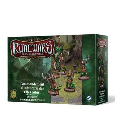 Runewars: Commandement d'Infanterie des Efles Latari
