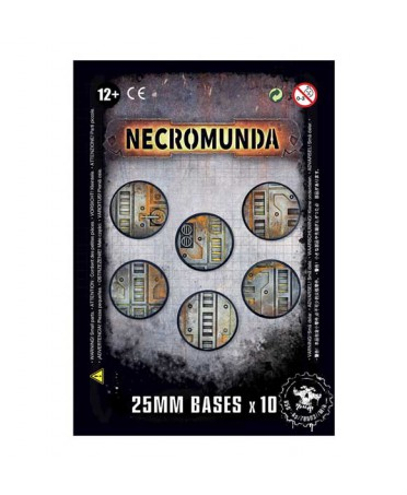 Necromunda 25mm Bases x10