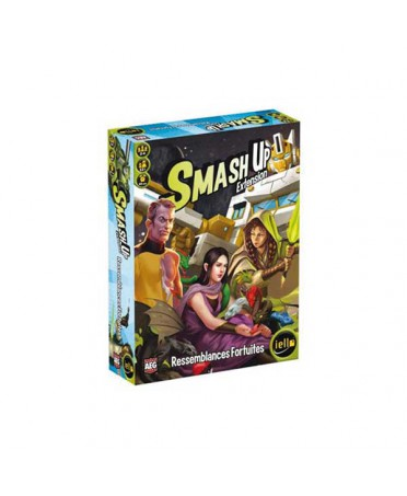 Smash Up: Ressemblances fortuites