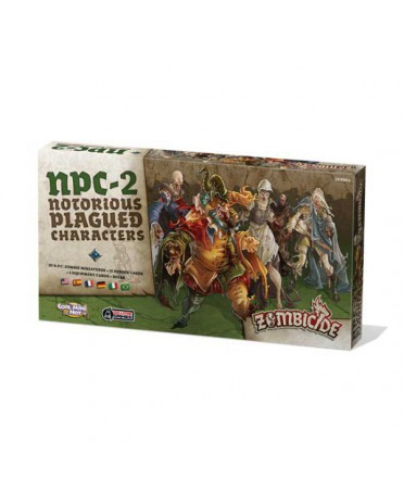 Zombicide Black Plague : Notorious Plagued Characters 2