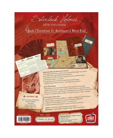 Sherlock Holmes - detective conseil : Jack l'éventreur et aventures a