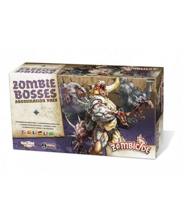 Zombicide Black Plague : Abomination Pack