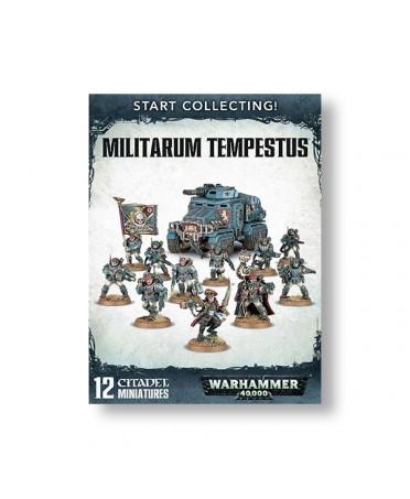 Start collecting : Militarum Tempestus