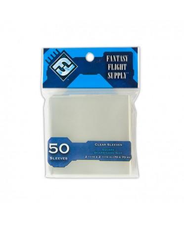 protège cartes FFG Carré 70mm x 70mm