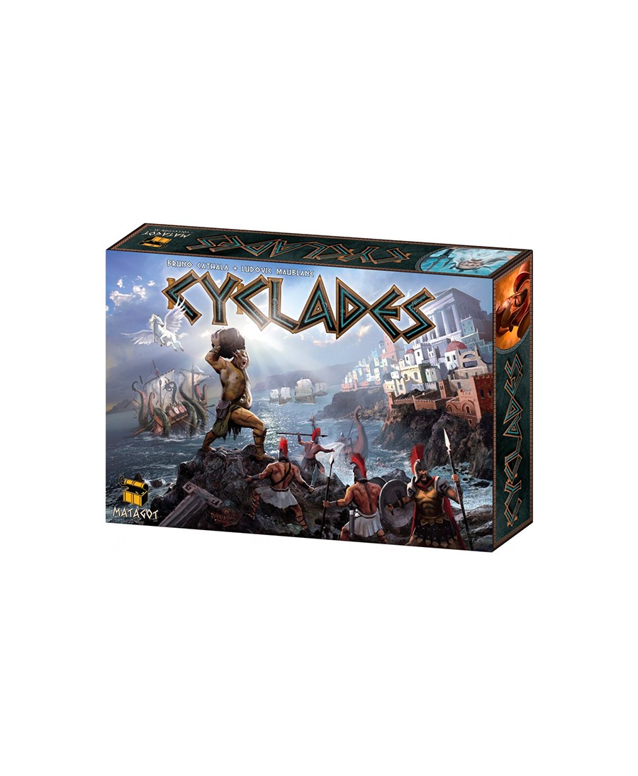 Cyclades : boite de base