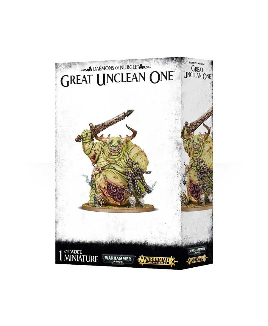Daemons Of Nurgle : Great Unclean One   Boutique Starplayer   Warhammer Age Of Sigmar