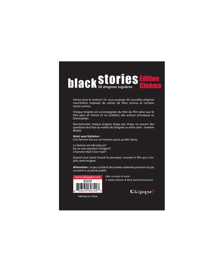 Black Stories Edition Cinéma (VF-2017)