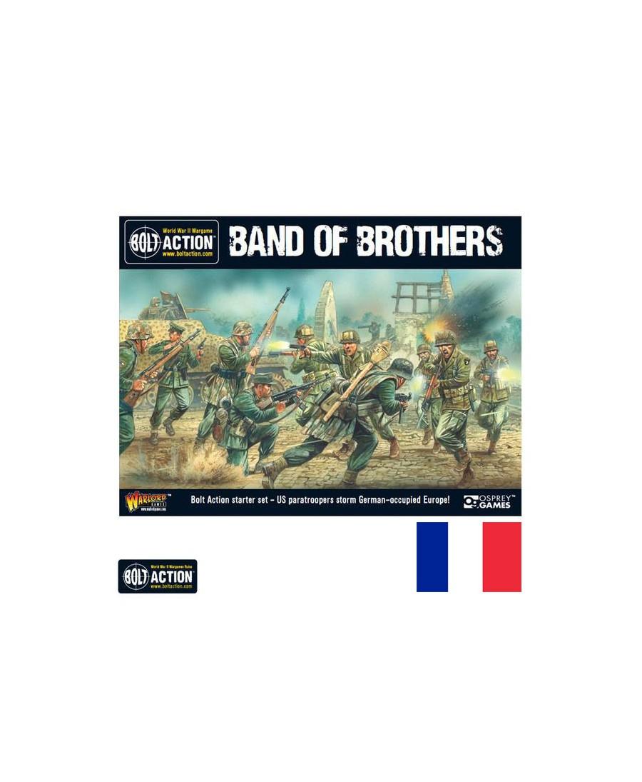 Bolt action 2nd edition : starter band of brothers | Boutique Starplayer | Jeu de Figurines Historique