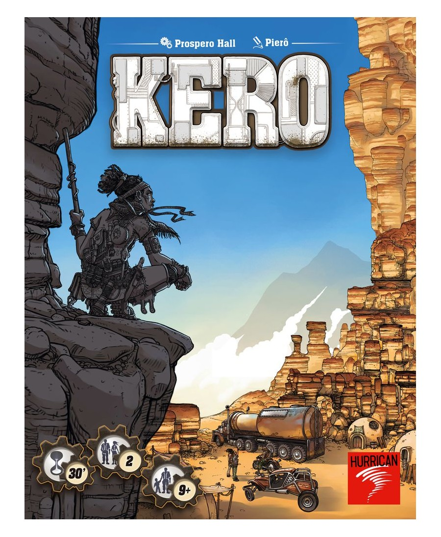 Kero jeu de société VF 2018