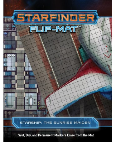 Starfinder Flip-Mat : Starship : The Sunrise Maiden