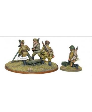Bolt Action : Soviet Army 120mm Heavy Mortar Team |Boutique Starplayer | Jeu de Figurines