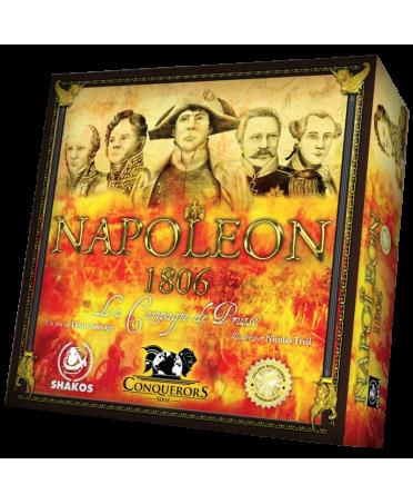 Napoléon 1806 - Boite du jeu | Boutique Starplayer