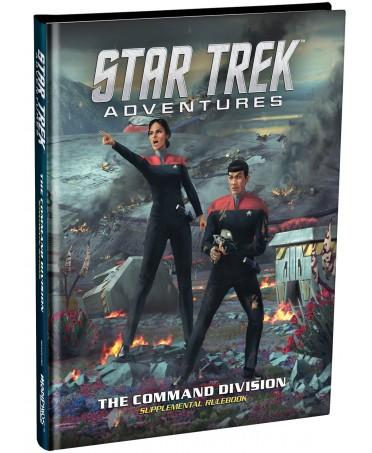 Star Trek Adventures : Command Division Rulebook | Boutique Starplayer