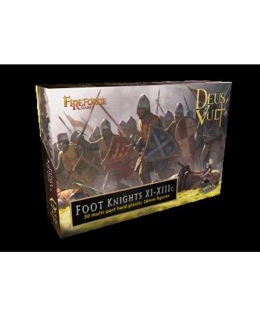 Deus Vult : Chevaliers Croisés à Pied | Foot Knights XI-XIIIC | Boutique Starplayer