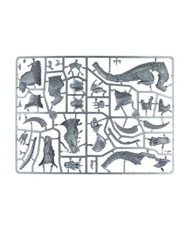 Carnosaure / Troglodon des Hommes-lézards