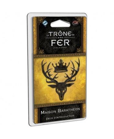 Le Trône de Fer JCE : Maison Baratheon - Deck d'introduction | Boutique Starplayer