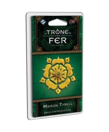 Le Trône de Fer JCE : Maison Tyrell - Deck d'introduction | Boutique Starplayer