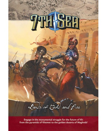 7th Sea : Lands Of Gold And Fire (VO) | Boutique Starplayer