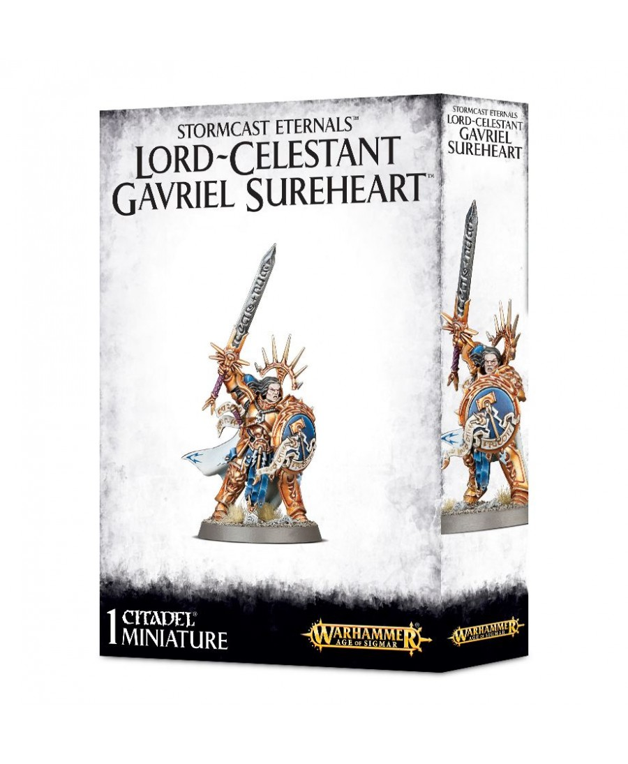 Stormcast Eternals : Lord-Celestant Gavriel Sureheart | Boutique Starplayer