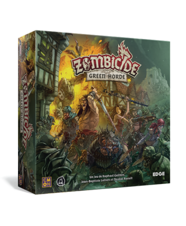 Zombicide Black Plague : Green Horde   Boutique Starplayer