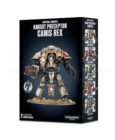 Imperial Knights : Knight Preceptor Canis Rex | Boutique de Jeux de Figurines Starplayer
