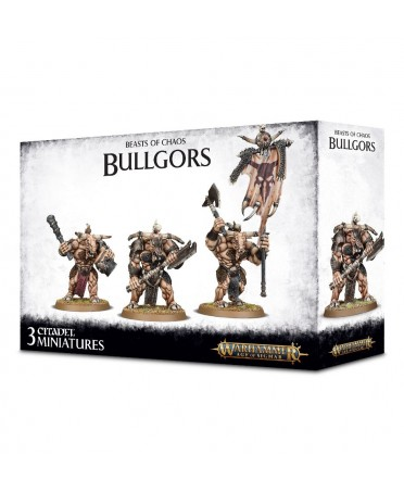 Beasts Of Chaos : Warherds Bullgors | Boutique Starplayer