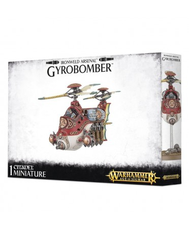 Arsenal nain : Gyrocopter | Boutique Starplayer | Kharadron Overlords & Fyreslayers.