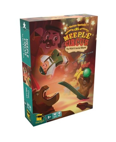 Meeple Circus : The Wild Animal & Aerial Show   Boutique Starplayer