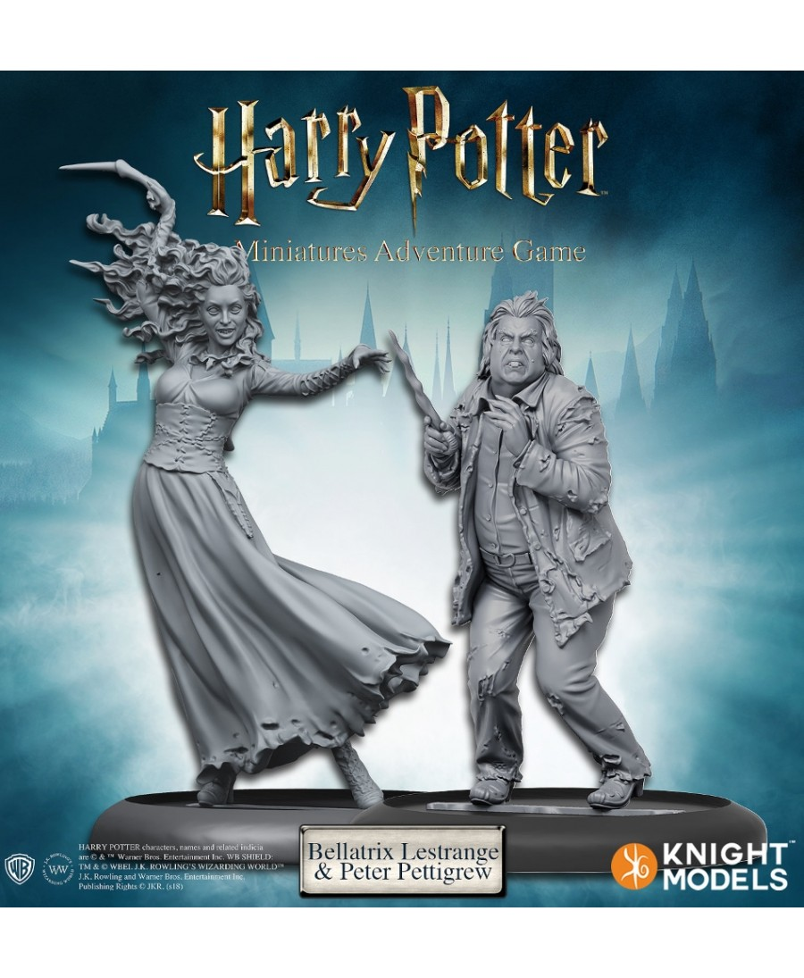 Harry Potter Miniature Adventures Game : Bellatrix & Wormtail | Boutique Starplayer