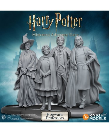 Harry Potter Miniature Adventures Game : Hogwarts Professors | Boutique Starplayer