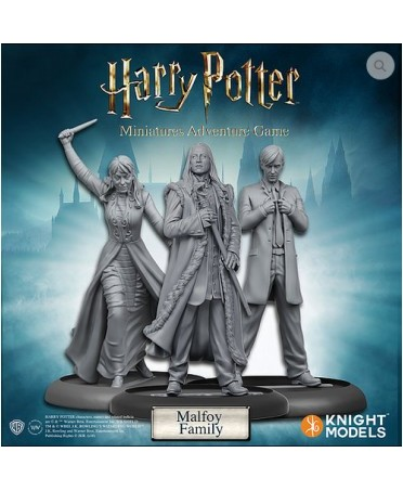 Harry Potter Miniature Adventures Game : Malfoy Family | Boutique Starplayer