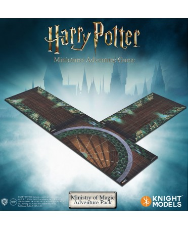 Harry Potter Miniature Adventures Game : Ministry Of Magic Adventure Pack | Boutique Starplayer