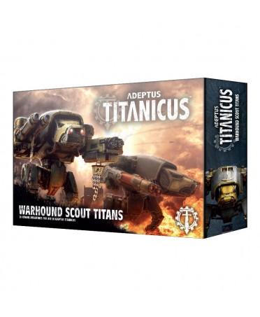 Adeptus Titanicus : Warhound Scout Titans | Boutique Starplayer
