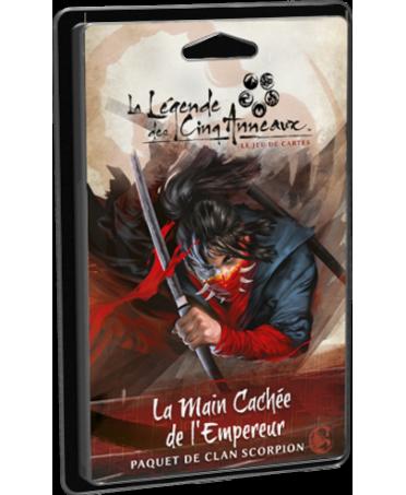 La Légende des Cinq Anneaux JCE : La Main Cachée de l'Empereur | Boutique Starplayer