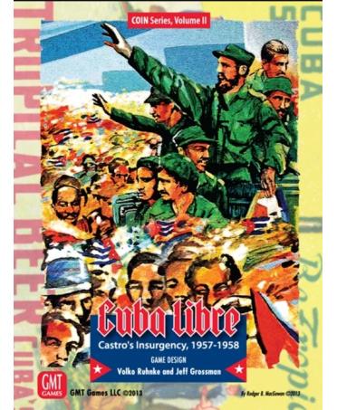 Cuba Libre, Castro's Insurgency (3rd Printing) | Boutique de Wargames Française