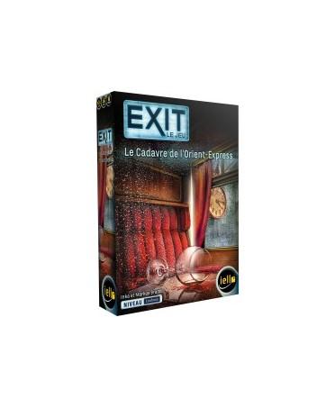 Exit : Le Cadavre de l'Orient Express (Niveau Confirmé) | Boutique de jeux de société, escape Games Starplayer