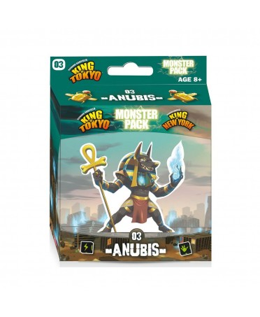 King Of Tokyo/NY : Monster Pack Anubis | Boutique Starplayer