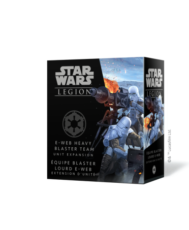 Star Wars Legion : Équipe Blaster Lourd E-Web  | Boutique Starplayer